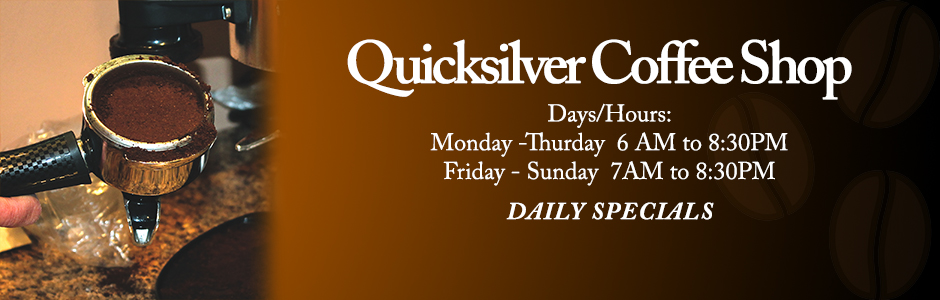 QUICKSILVER COFFEE SHOP